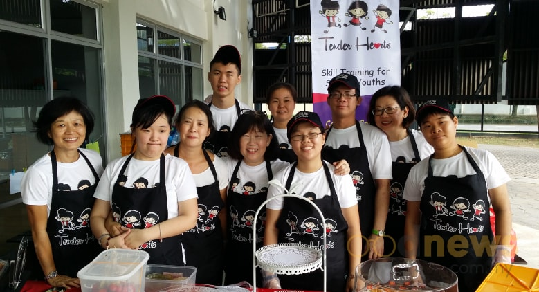 Tender Hearts Cafe by special needs people to community