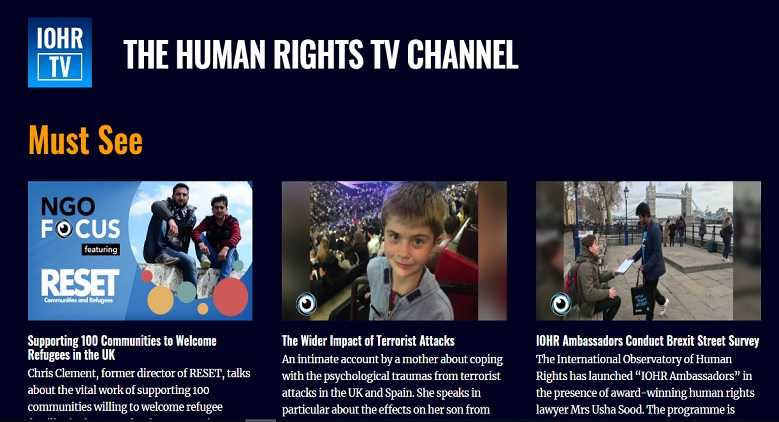 HR TV: A Voice for the Voiceless