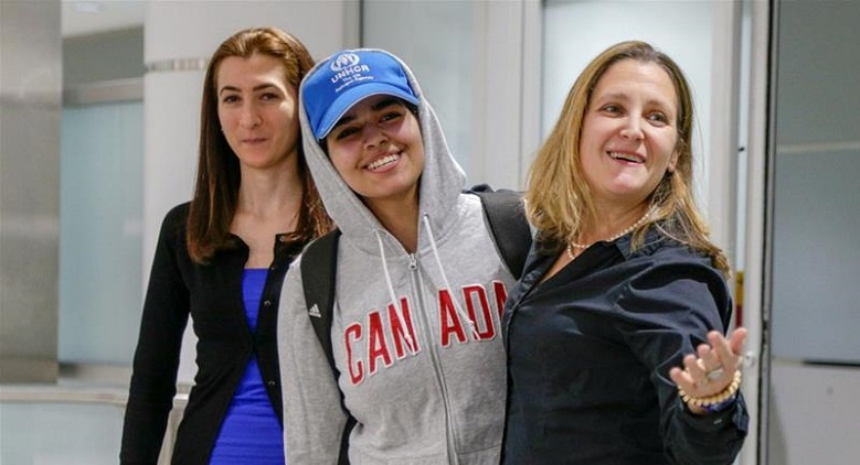Rahaf al-Qunun's Journey: From A Tweet To A Refugee In Canada
