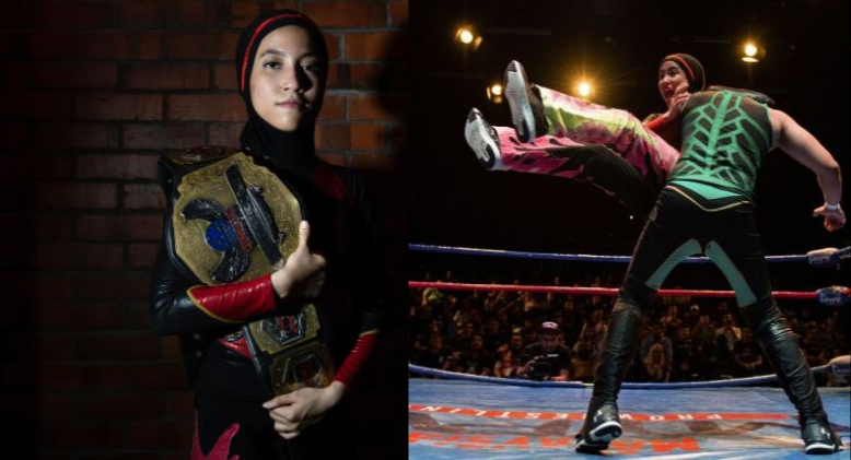 Nor 'Phoenix' Diana Rises As The First Hijabi Wrestler In The World!