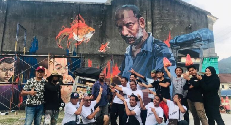 The Giant Penang Mural, A Symbol of Humility And Diligence in Multiracial Malaysia