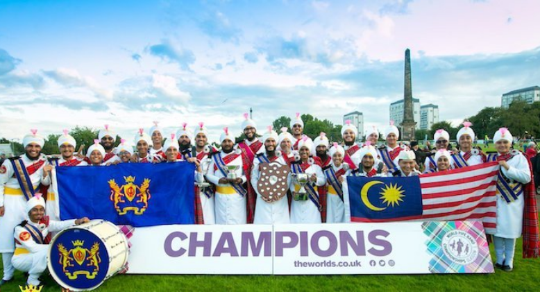 Meet The Malaysian Sikh Pipe Band That Made Us Proud In The World Championship
