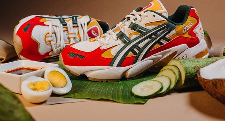"Step It Up And Celebrate Diversity With Locally-Inspired ""Nasi Lemak"" Sneakers!"