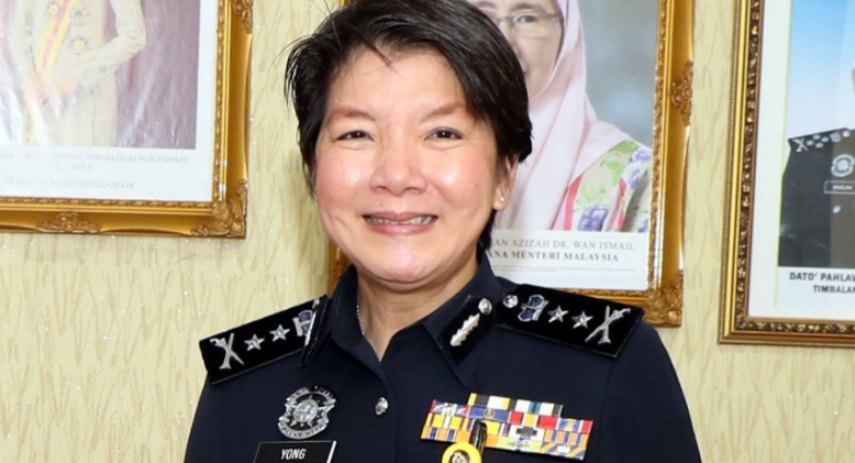 First Female In Malaysian History To Become The KL Deputy Police Chief Officer