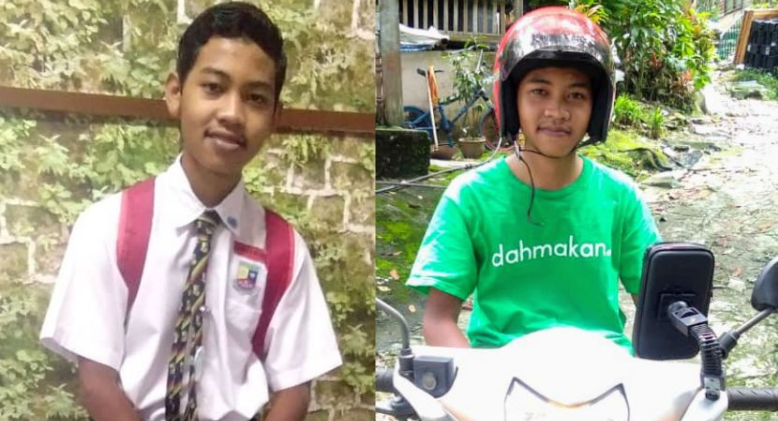 Sixteen-Year-Old Spends Weekends As A Delivery Guy To Stand On His Own Feet