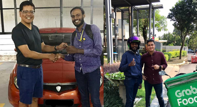 Puchong Delivery Man's Inspiring Story That Grabbed The Attention of Good Samaritans
