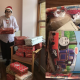 """Grandma Christmas"" Spends Entire Year Packing Goodies For Those In Need"