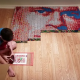 """9-Year-Old Benjamin Uses His """"Superpower"""" To Create Impressive Artwork"""