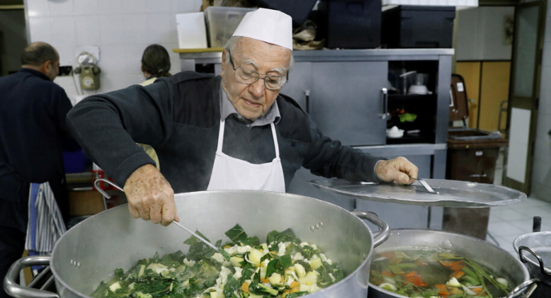 "Rome's ""Chef of the Poor"""