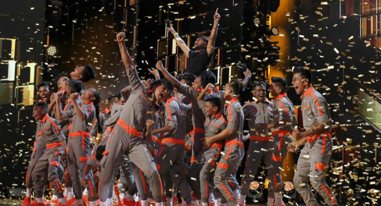 V Unbeatable Brings The House Down At AGT : The Champions 2
