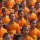 "Disruptors for GOOD: Buddhist Monks Turn Plastic Bottles into ""Nano Robes"""