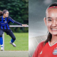 Young Malaysian Girl Rockin' the Football Field