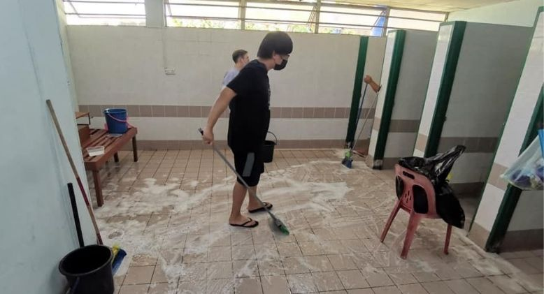 Toilets Cleaned By Covid-19 Patients, Prompts Health Department Action