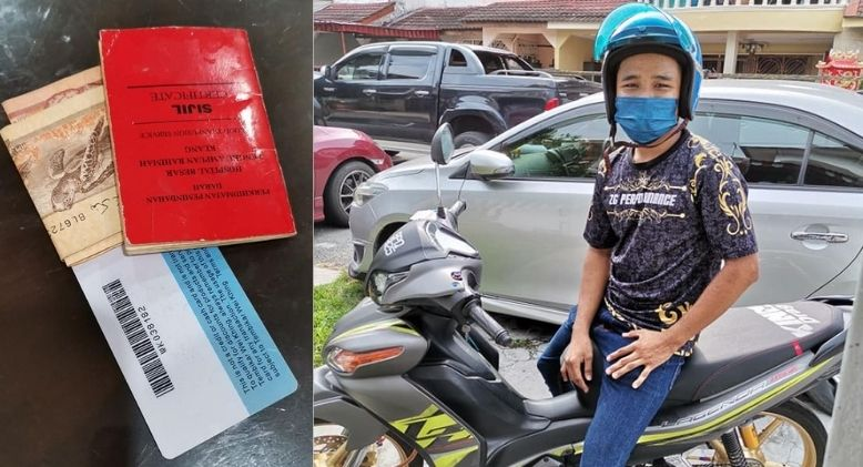 """Terima Kasih, dik"", Man Praised after Returning Woman's Lost Cash"