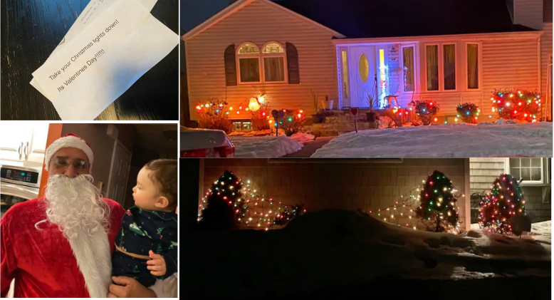 How The Grinch's Plan Backfired- Christmas Lights in February