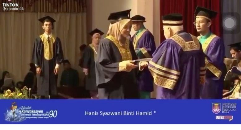 Malaysian Girl Shares Her Unforgettable Convocation Moment on Stage