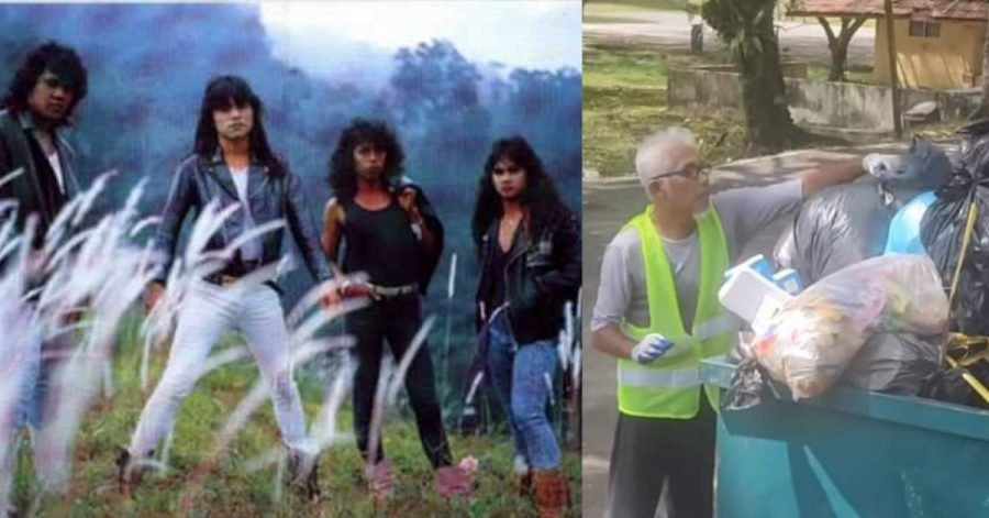90s Malaysian Rockstar Is Now A Garbage Collector For A Good Cause