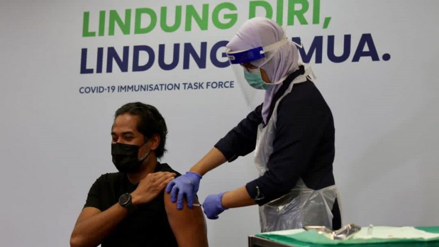 50% Malaysians to be Vaccinated by Month's End