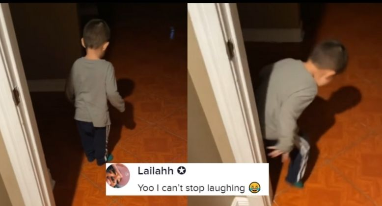 Funny Video of Child Screaming at Own Shadow Goes Viral