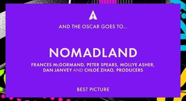 Nomadland and Diversity Win Big at 2021 Oscars, Daniel Kaluuya Nabs Best Supporting Actor