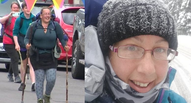 Woman Walks 8,000km from Ukraine to Wales to Raise Awareness for Ovarian Cancer