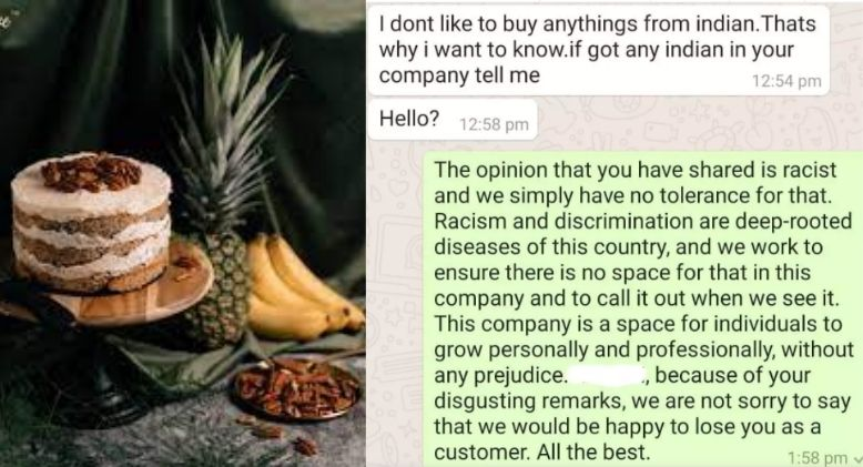 Bakery Puts Racist Customer in Place