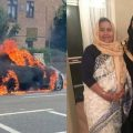 Family Thanks Stranger for Saving Father's Life from Burning Minicab