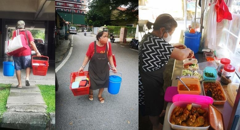 Netizen Urges KL Folk to Support Ampang Aunty Who is Unable to Make Ends Meet Selling Nasi Lemak