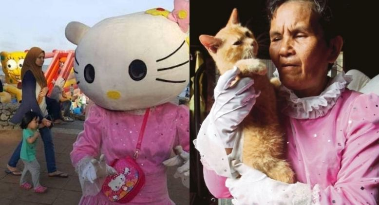 Hello Kitty Makcik Gets Helping Hand from Veterinary Department
