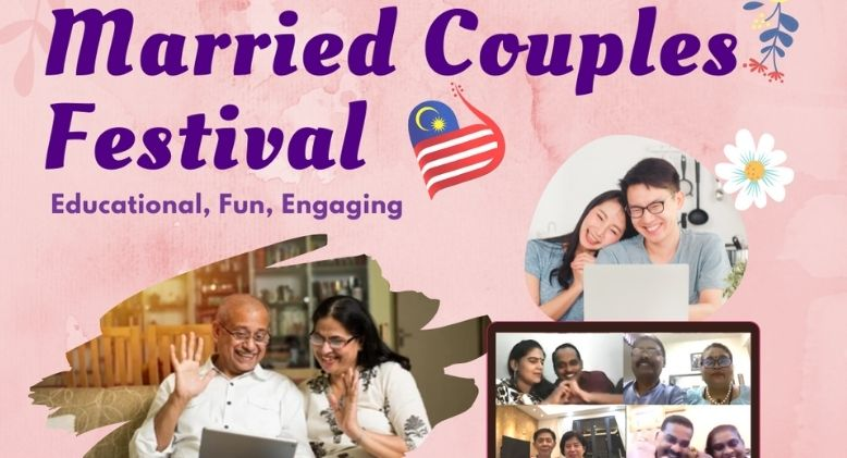272 Married Malaysian Couples Attend Online Festival