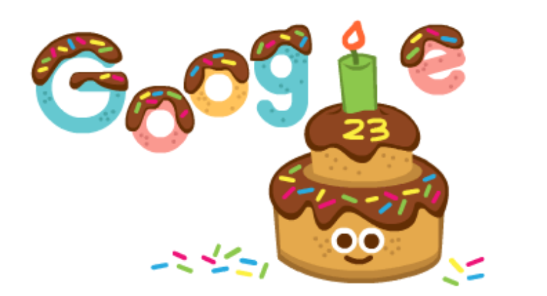 23 Years and more to come- Happy Birthday Google!